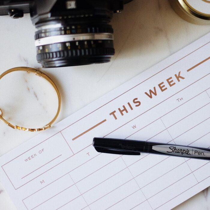 calendar schedule camera planner