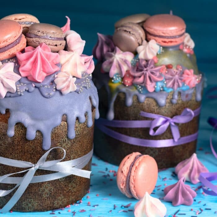 pastries purple cookies color cakes goodies