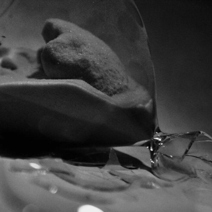 broken hourglass