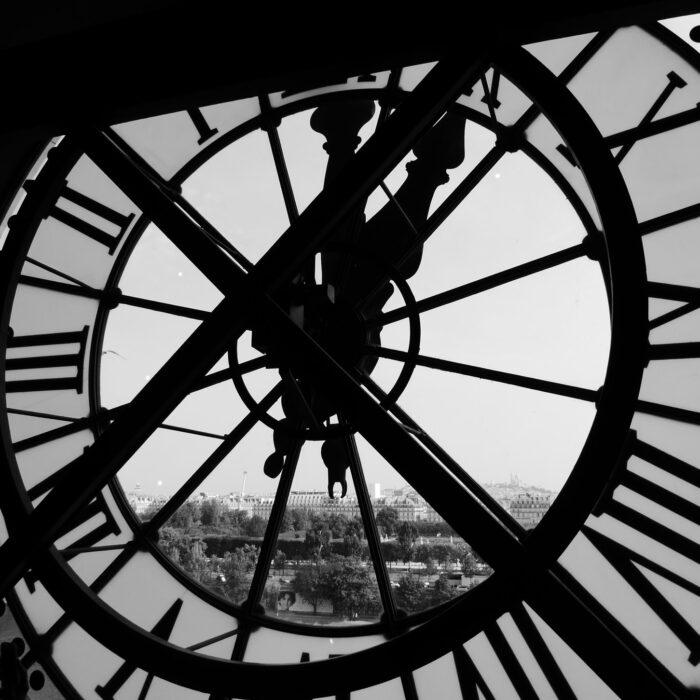 city clock face