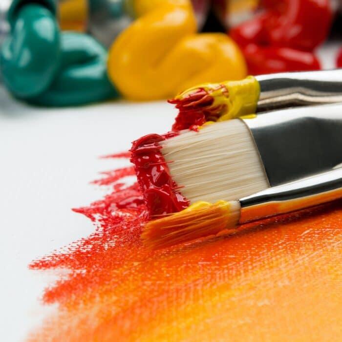 paint paintbrushes color design