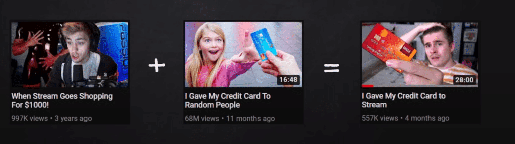 youtube image equals